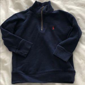 Polo Ralph Lauren zip sweatshirt 4T
